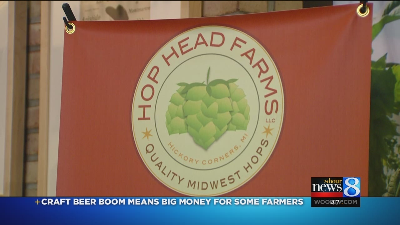 Craft beer booms leads to hops farm growth in MI
