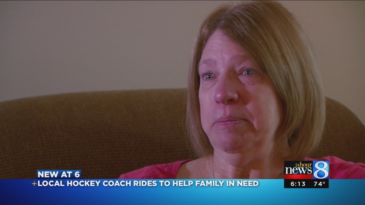 Grandville Hockey Coach To Ride 300 Miles For Family In Need