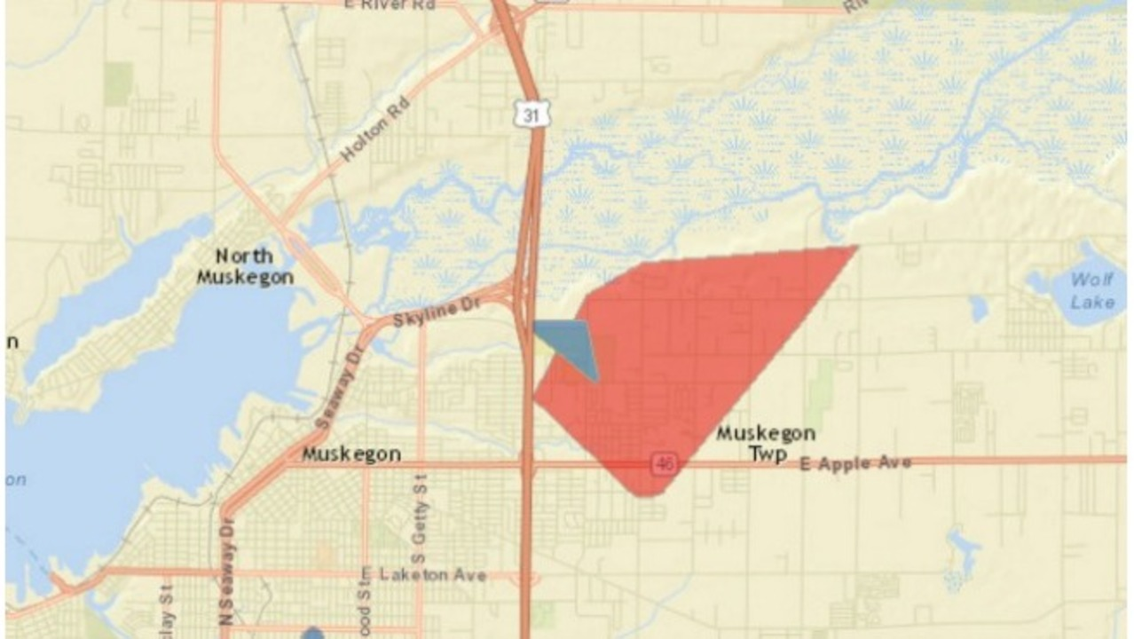 Battle Creek Power Outage Map.Classes Canceled In Muskegon Co Due To Power Outage
