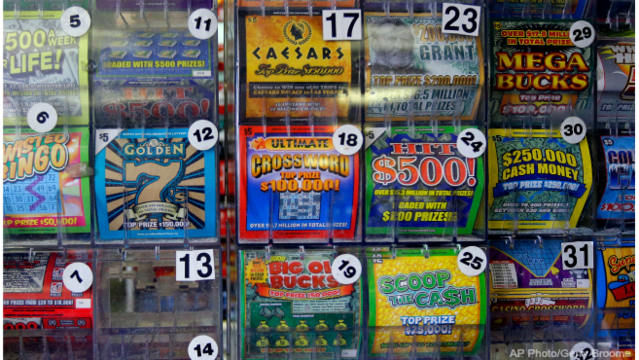 Woman calls lottery tickets a waste of time - until she wins