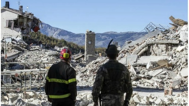 Powerful quake shakes Italy, topples Benedictine cathedral