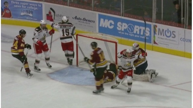 Grand Rapids Griffins top Wolves in overtime