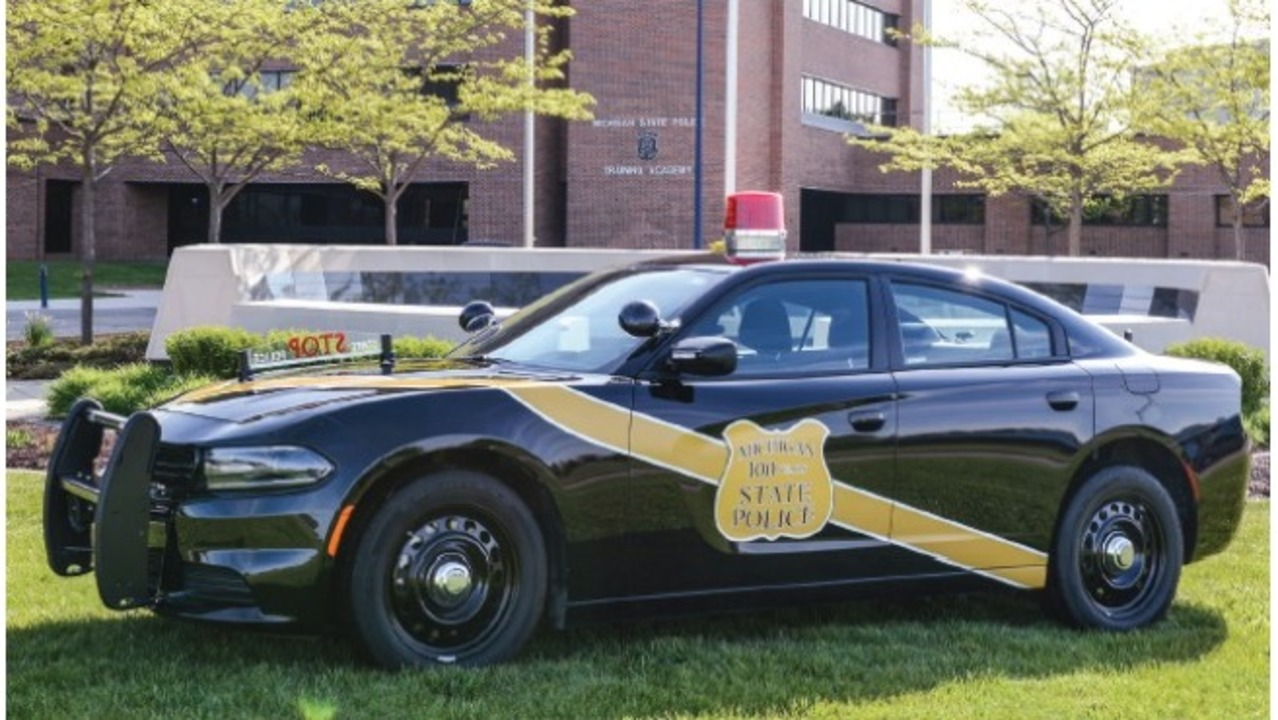 Michigan State Police get 50 black patrol cars to mark 100th - WOODTV