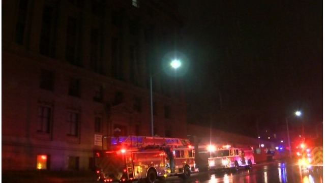 Police investigating 'suspicious' fire at GR Masonic Center