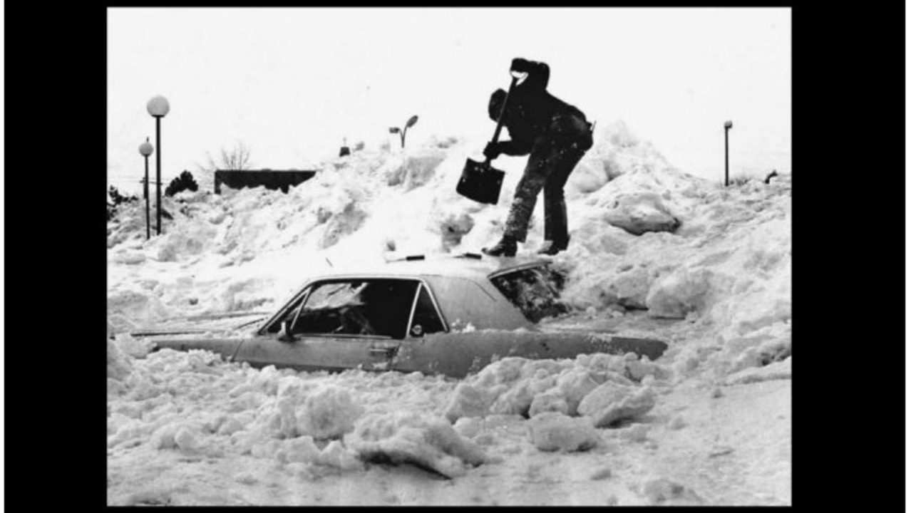 Photos Remembering The Blizzard Of Jan 26 1978