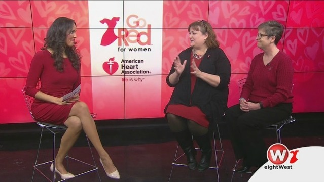 Go Red! in February for heart health