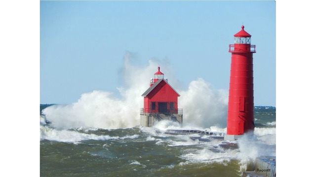 high waves grand haven via weather app_301962
