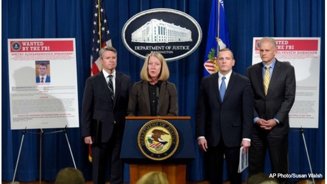 US charges Russian officials, hackers in mass Yahoo breach