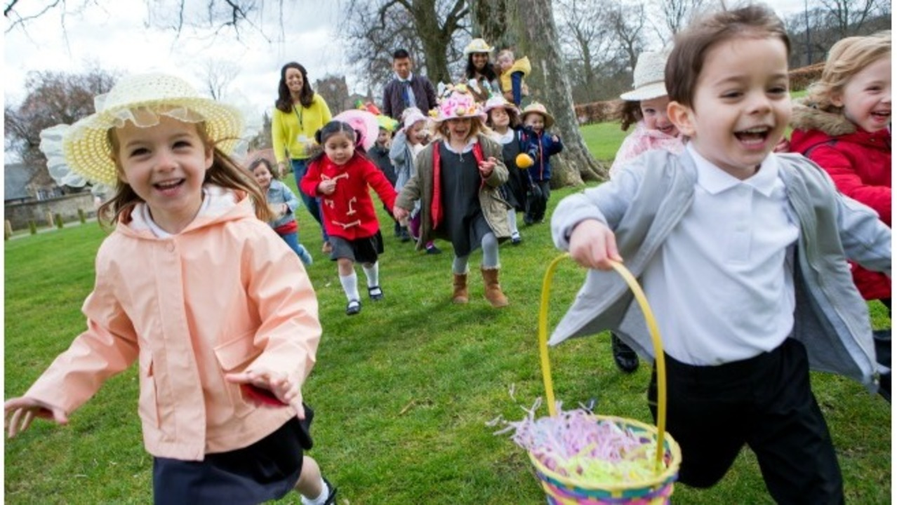 Image result for family Easter egg hunt