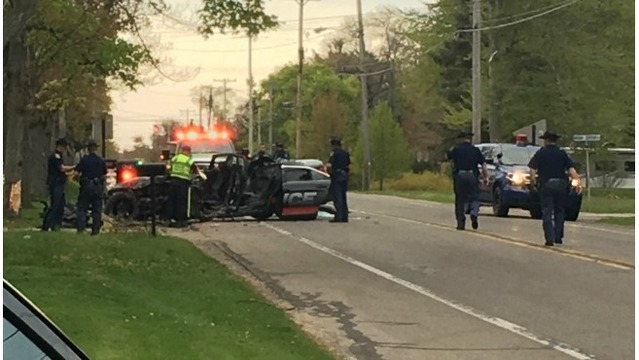 MSP: Cause of fatal police crash unknown