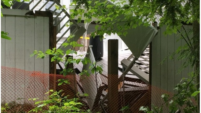 Weaver House deck collapse 061617_355192
