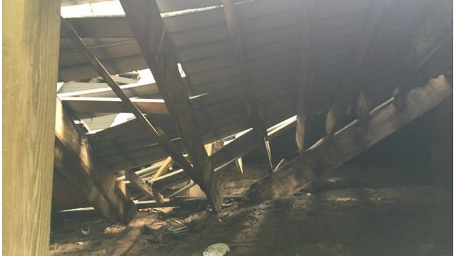 Weaver House deck collapse 2 061617_355188