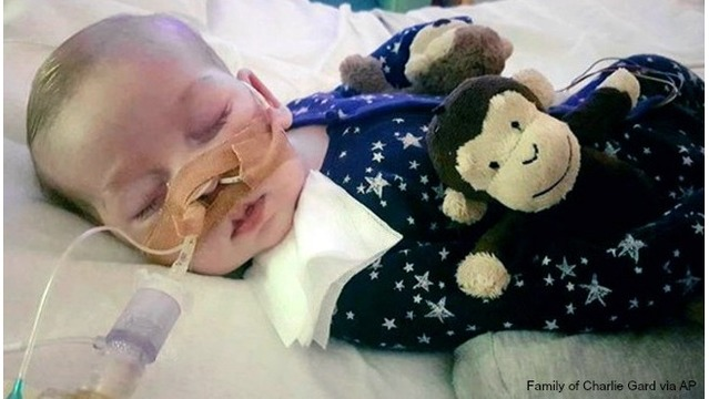UK judge OKs plan for Charlie Gard to go to a hospice