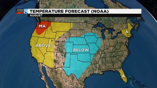 monthly temp outlook 379401 noaa monthly temperature outlook monthly prec outlook 379402