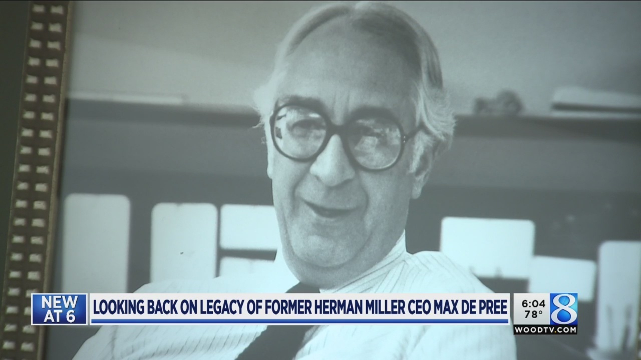 Ex-Herman Miller CEO, author Max De Pree dies at 92