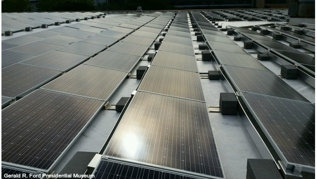 Ford Museum solar panels should cut energy costs