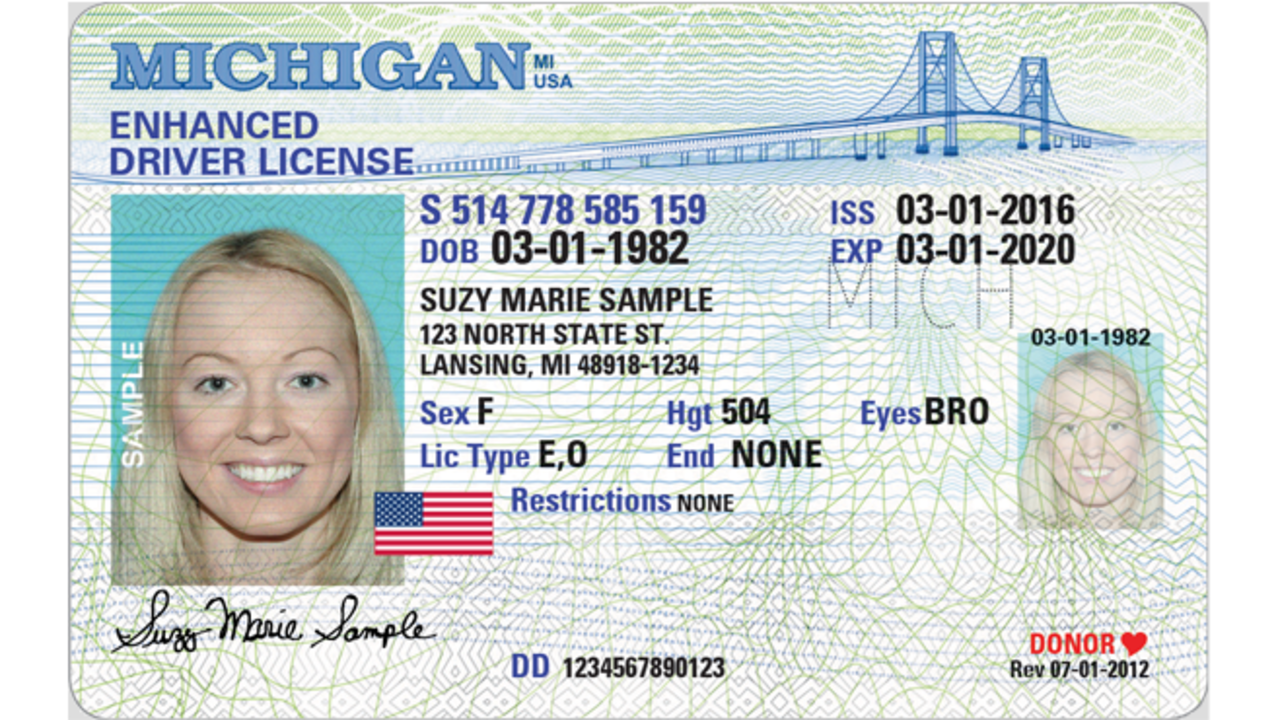 Issuing Michigan Driver's New Monday Starting Licenses