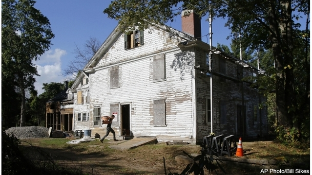 House tied to 1692 Salem witch trials rises from near ruin