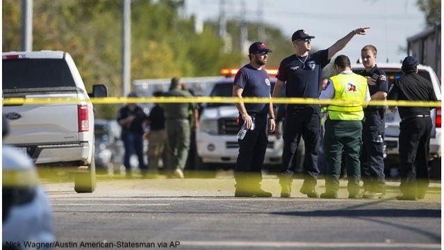 Driver who chased down Texas church shooter: 'Let's go'