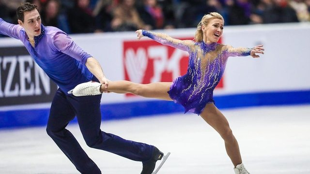 The winding path to Germany for Aliona Savchenko and Bruno Massot