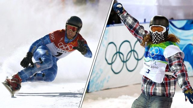 20 top moments since Olympic snowboarding's debut 20 years ago