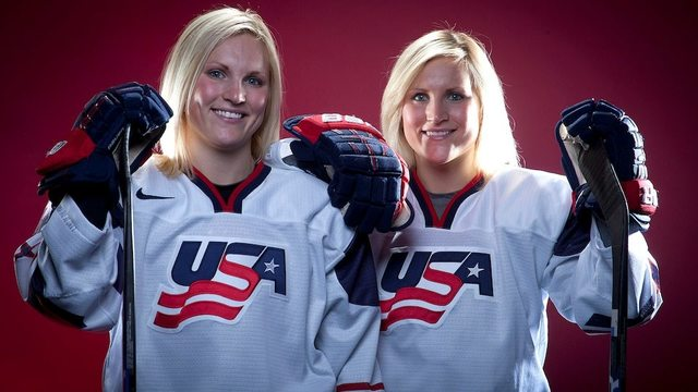 American twins will have some sisterly company at Olympics