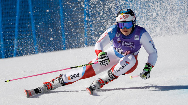 Melanie Meillard out of the Olympics after crash