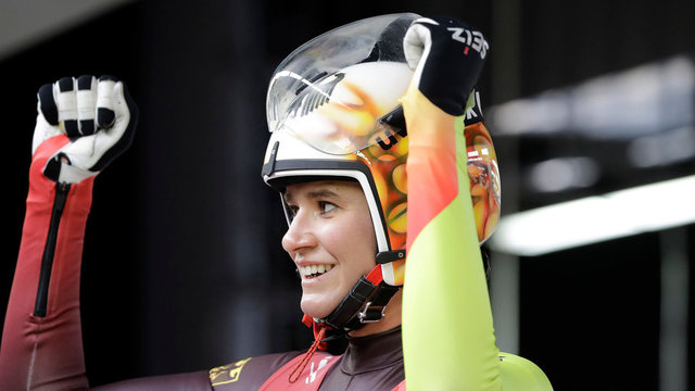 Natalie Geisenberger defends Olympic title in women's singles luge