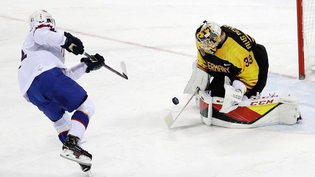 German goalie soaks in pinch-me moment after clutch performance