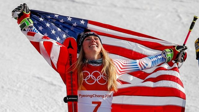 Watch Mikaela Shiffrin win all of her Olympic medals
