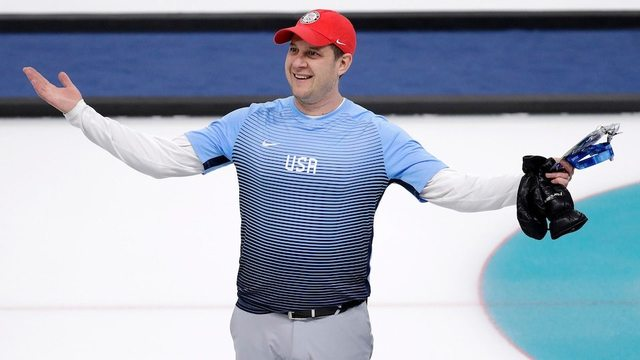 Men's curling semifinals: USA headed to first gold medal game with win over Canada