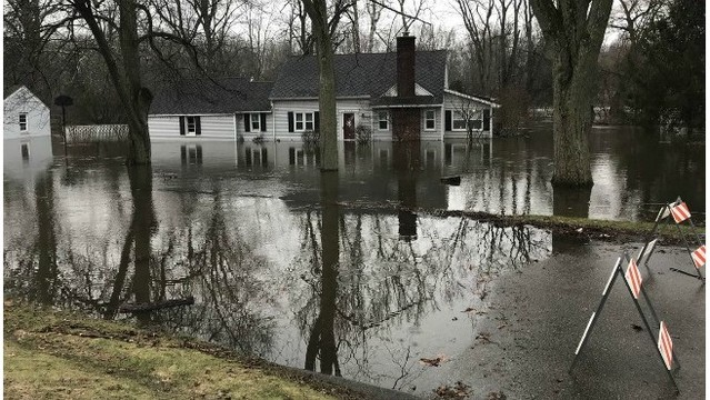 Comstock Township flooding 022318_485389