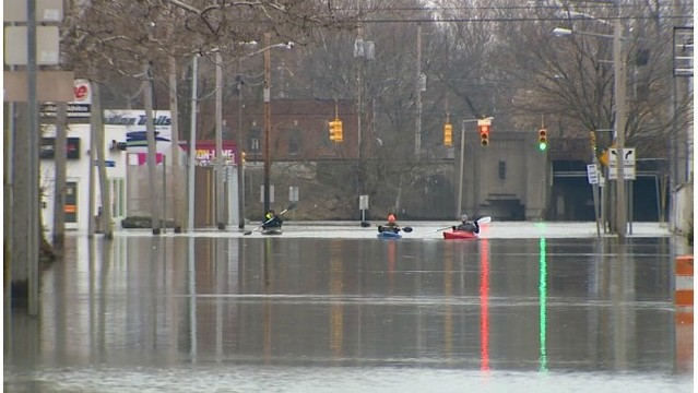 Flood concerns continue as water begins to recede