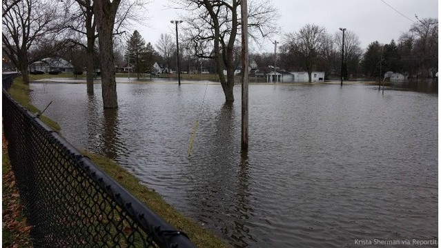 Comstock Township flooding 022518_486520