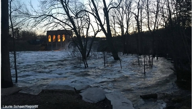 thornapple river dam flooding 022518_486785