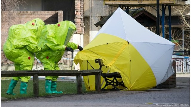 Russia demands access to nerve agent in ex-spy case standoff