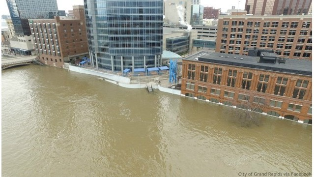 Disasters declared in 17 counties hit by flooding