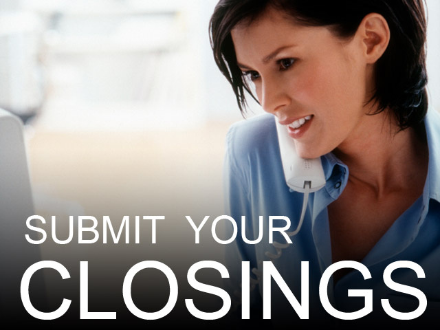 Submit Your Closing
