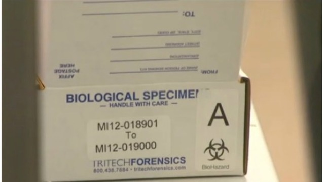 Michigan expands online rape kit tracking