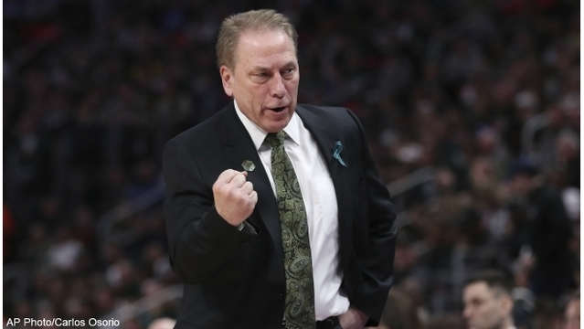 Michigan State beats Bucknell 82-78 in NCAA tournament opener