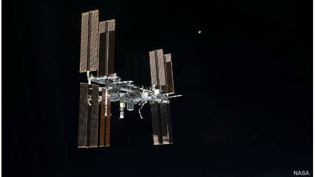 Look up for International Space Station