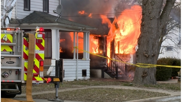 No injuries in Kalamazoo house fire