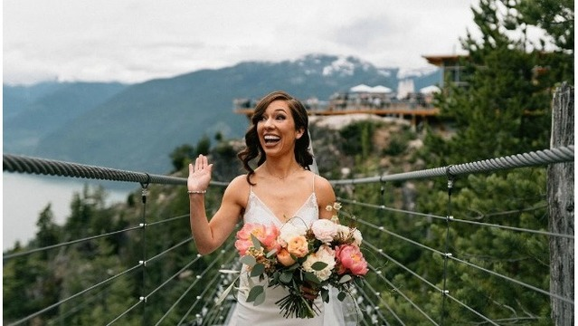 West Michigan Bride chooses destination wedding in British Colombia, Canada