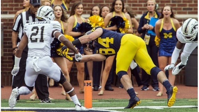 No. 21 Michigan bounces back with win over WMU