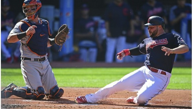 Indians' Central clinching stalled with loss to Tigers