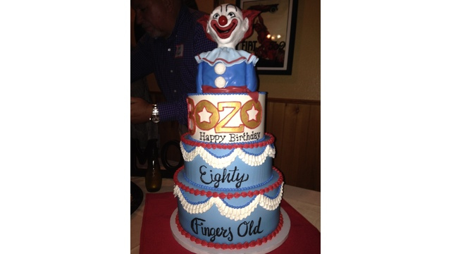 Bozo Is 80 Years Old