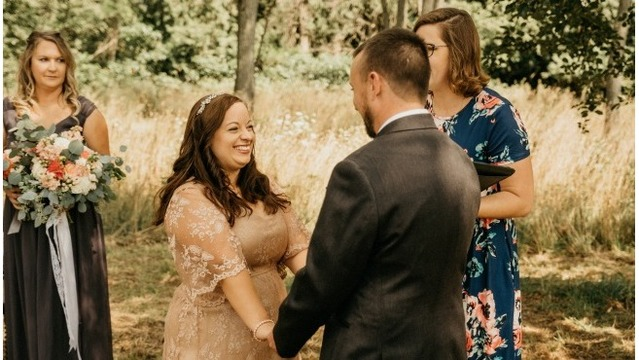 West Michigan Bride wows guests at local venue: Long Road Distillers