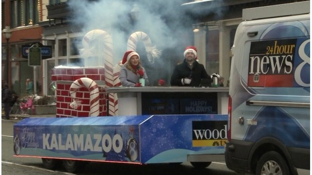 Team Daybreak goes to 57th Kzoo Holiday Parade