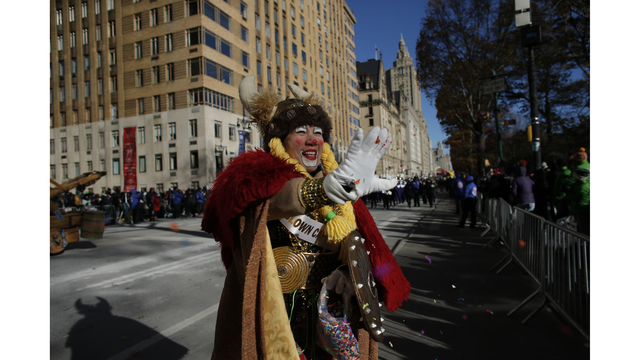 NOT SIZED Macy's Thansgiving Day Parade 112218 Getty_1542920795067