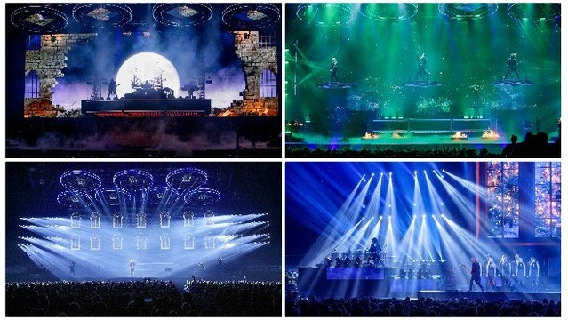 Trans siberian orchestra in Grand Rapids collage 120318